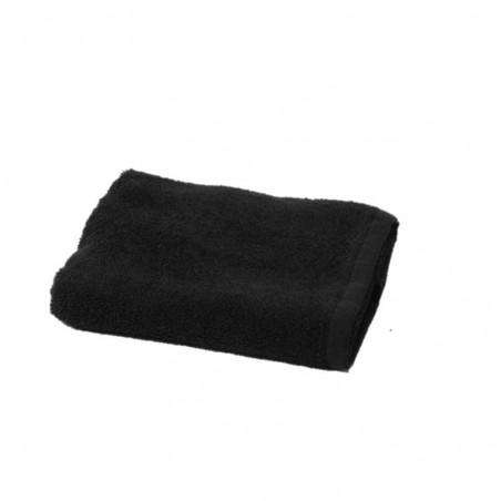Kit 5 Serviettes noir pour coiffure