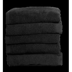 Set di 5 asciugamani neri...